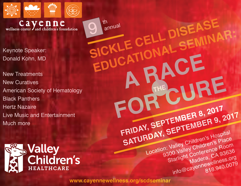 9th Annual Sickle Cell Disease Educational Seminar—A Race for the Cure